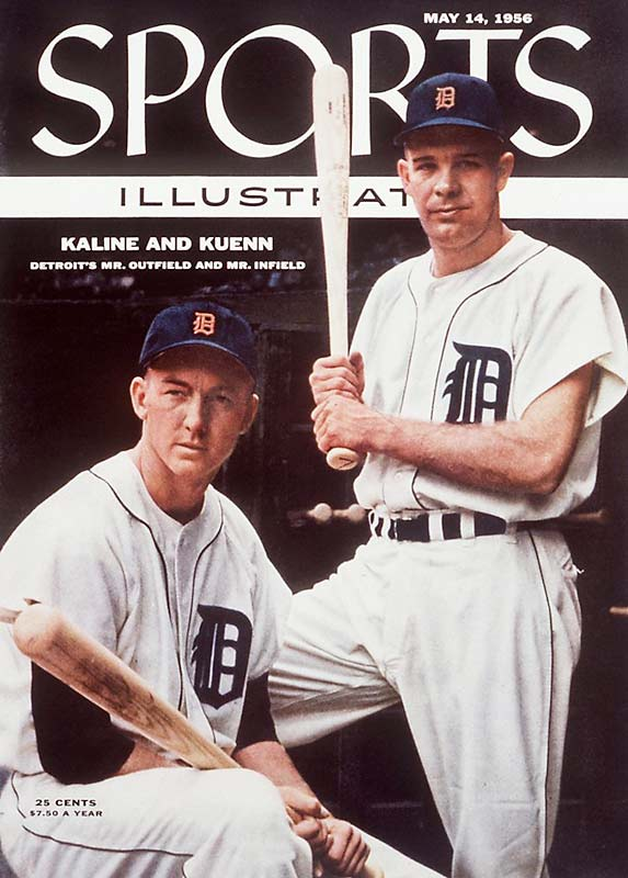 The Tigers thought they had the cornerstone of their franchise in Al Kaline and Harvey Kuenn. The duo racked up big numbers until the Tigers traded Kuenn to Cleveland for Rocky Colavito following the 1959 season.