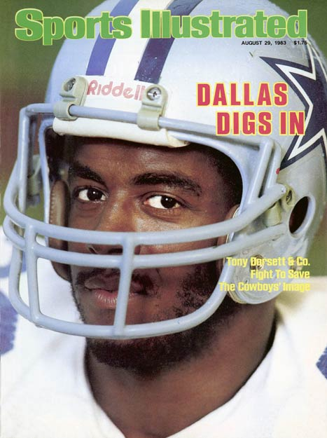 Tony Dorsett becomes the sixth player in NFL history to rush for 10,000 yards as the Cowboys defeat Pittsburgh 27-13 win at Texas Stadium.