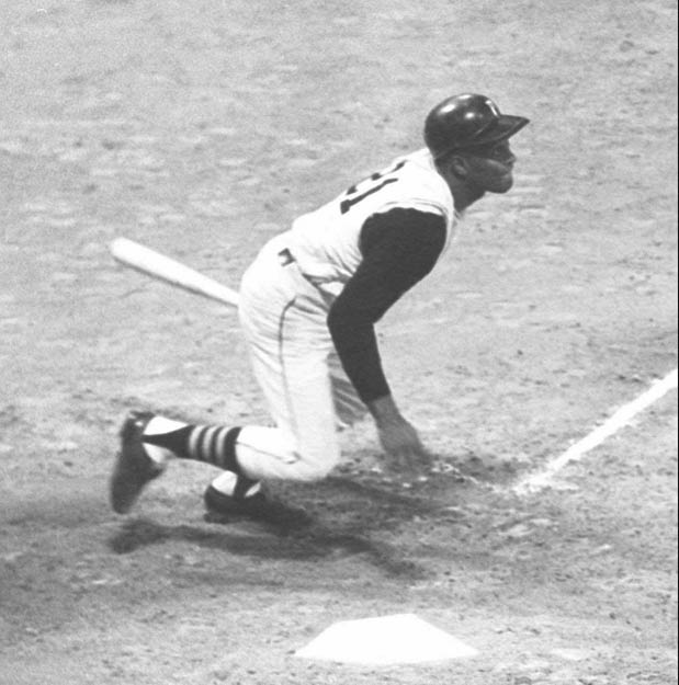 In the first World Series night game ever played, the Pirates defeat the Orioles, 4-3 as Roberto Clemente collects three hits at Three Rivers Stadium.
