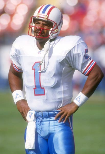 Houston quarterback Warren Moon passes for 369 yards and five touchdowns as the Oilers beat Cincinnati 48-17. Moon becomes the first person to throw for over 20,000 yards in two different leagues (he passed for 21,228 yards in the Canadian Football League).