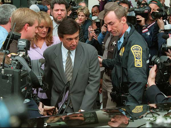 In Arlington, Va, sportscaster Marv Albert was spared a jail sentence after a courtroom apology to the woman he'd bitten during a sexual encounter.
