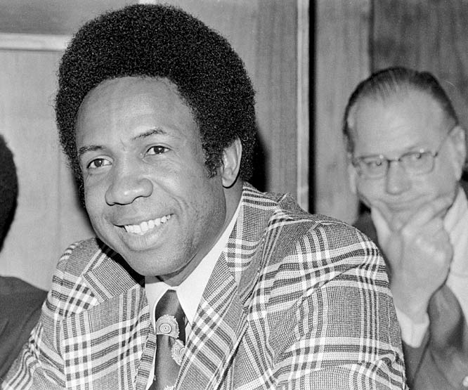 Frank Robinson becomes the first black manager in major league history. The former Reds and Oriole superstar signs a $175,000 contract to manage and play for the Indians.