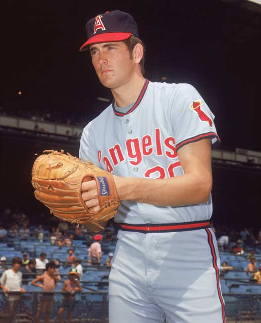 Using a state-of-the-art timing device to measure velocity, Nolan Ryan's fastball is clocked at 100.9 mph, earning him an entry in the Guinness Book of World Records.