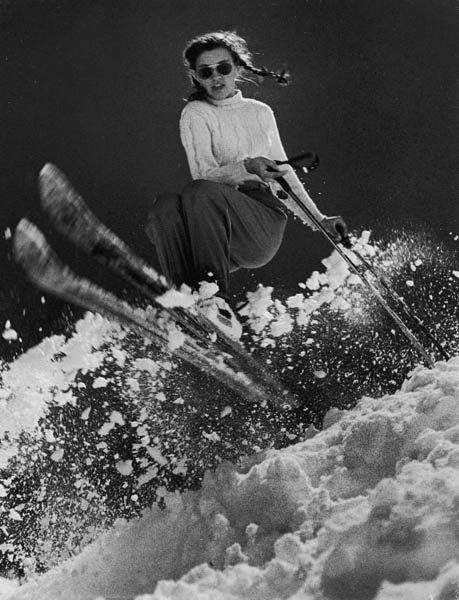It can still be said more than 60 years later that she is the greatest-ever U.S. ski racer. Lawrence, of Rutland, Vt., was only 15 years old when she flashed past George Silk's camera in 1947 during practice sessions for the next year's Winter Olympics. Although she didn't take home any medals at St. Moritz, four years later, at Oslo, she became the first American skier ever to win two gold medals in a single Olympics--she took the slalom and giant slalom--and remains today the only one to turn the trick.