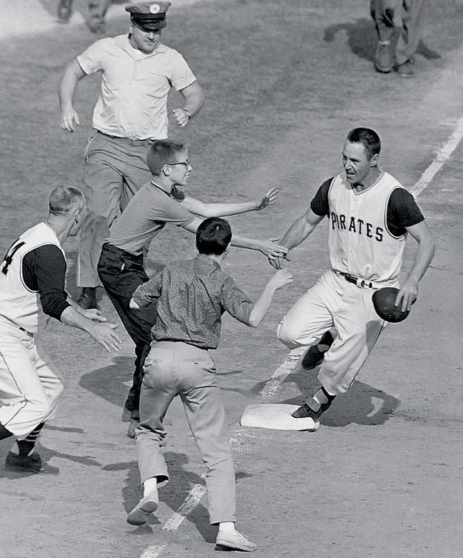 Bill Mazeroski hit the first walk-off home run to end a World Series, his shot in the bottom of the ninth in Game 7 giving Pittsburgh a 10-9 win.<br><br>Send comments to siwriters@simail.com.