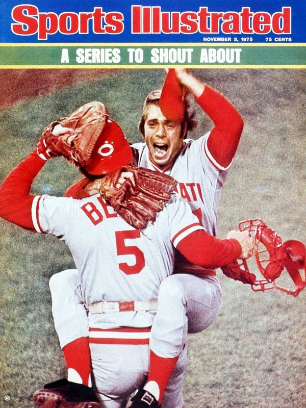 The defining moment of the series was Carlton Fisk's 12th-inning home run, but the Reds got the best of a series that had five one-run games when they came back from a 3-0 deficit in Game 7 to win on Joe Morgan's two-out single in the top of the ninth.