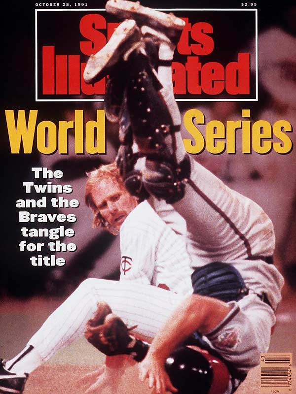 With five games decided by one run, four in the final at-bat, and three in extra innings -- including Kirby Puckett's 11th-inning home run in Game 6 -- it was fitting this series ended with Jack Morris throwing 10 scoreless innings to win the series in a 1-0 victory.