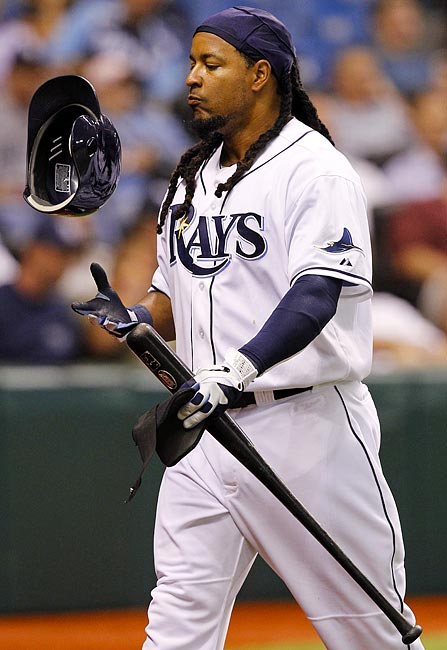 Manny Ramirez told MLB he intended to retire on April 8, 2011 after the league notified him of an issue with its drug policy. Ramirez played just five games for the Tampa Bay Rays and retired with career 555 home runs.""