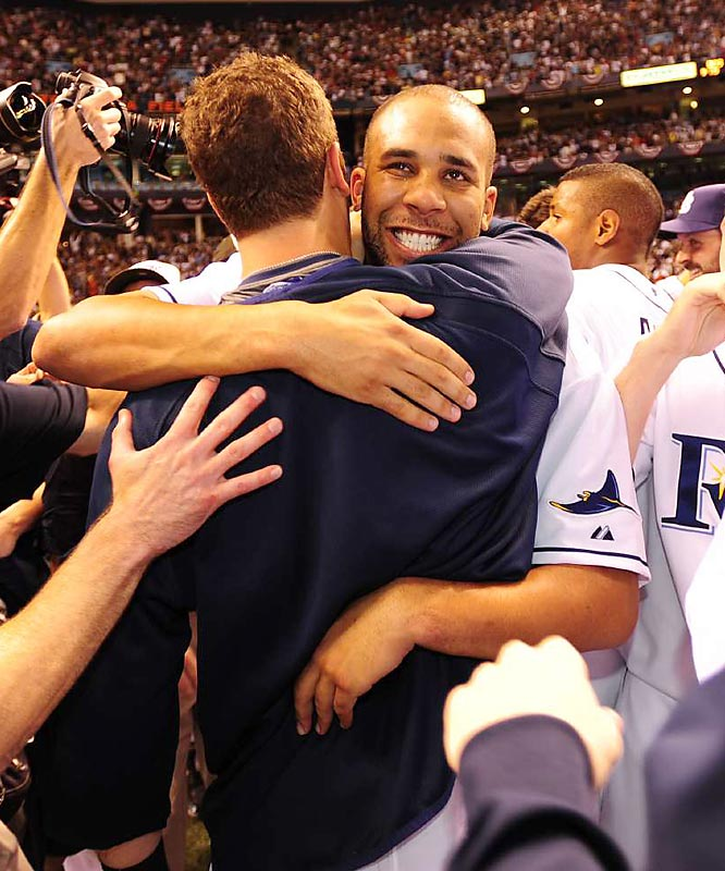 "The celebration on the infield focused on David Price, who recorded the game's final four outs for the save. Pitching coach Jim Hickey said: ""On the biggest stage of his life, he came up with one of the biggest games of his life. This was a little bit bigger than the SEC Championship."""