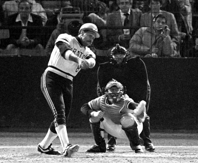 "The Orioles scored 17 runs combined in winning Games 3 and 4 in Pittsburgh to take a 3-1 lead, but the ""We Are Family"" Pirates stuck together and rallied to beat the O's in the Series for the second time in the decade. Willie ""Pops"" Stargell gave the Pirates the lead in the sixth inning of Game 7 with a  long home run off Scott McGregor, one of his four hits on the night, propelling Pittsburgh to its most recent Series title."