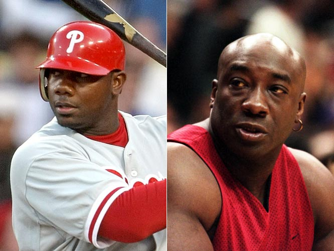 The 2005 NL Rookie of the Year and the 2006 NL MVP, Ryan Howard notched 100 career home runs faster than any player in major league history.<br><br>Michael Clarke Duncan has played a lot of bouncers and bodyguards as an actor, but his breakthrough role came as seven-footer John Coffey in the 1999 film The Green Mile.