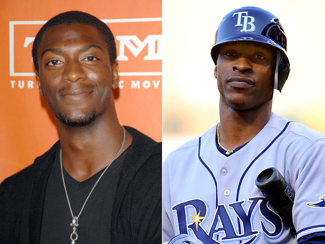 After hitting nine home runs during the regular season, centerfielder B.J. (it stands for Bossman Junior) Upton already has seven in the postseason, in addition to a team high 11 RBI during the ALCS.<br><br>Actor Aldis Hodge has appeared in numerous TV series, including Friday Night Lights, ER and C.S.I. He will star in TNT's new series, Leverage, beginning in December.