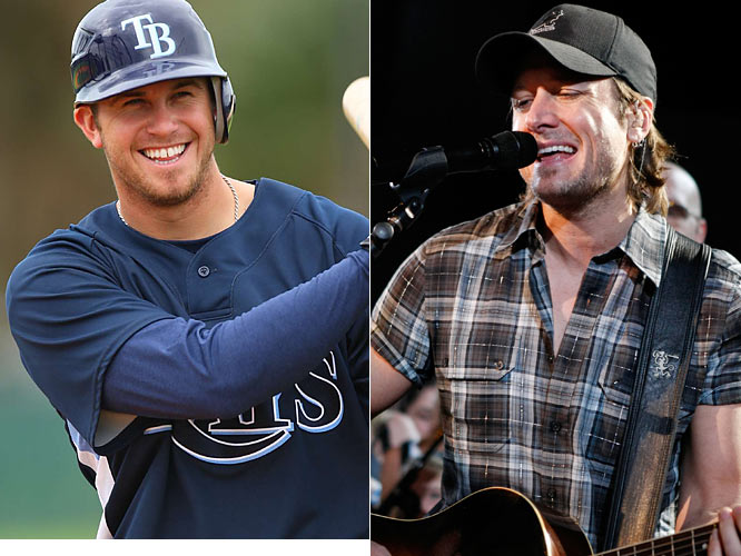The third overall pick in the 2006 draft, Evan Longoria tore through the minor leagues and arrived in Tampa for good on April 14, 2008. Longoria was the fans' pick for the final roster spot on the AL All-Star roster.<br><br>Keith Urban is a Grammy Award-winning country star from New Zealand. Urban married actress Nicole Kidman in 2006.