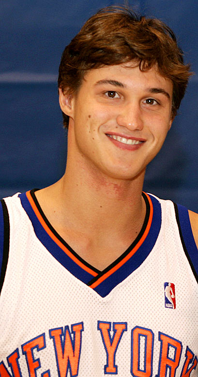 Gallinari has missed most of the preseason because of a back injury, leaving his status in doubt for the first week of the regular season. The Knicks are eager to see the skilled 6-10 forward, who could be a good fit in coach Mike D'Antoni's fast-paced system.