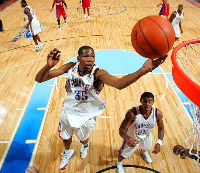 After two years of legal wrangling in Seattle, owner Clay Bennett finally got his wish and relocated the franchise to Oklahoma City. With last season's Rookie of the Year, Kevin Durant, and several other young talents, the Thunder have a bright future. But it will be interesting to see if Oklahoma City embraces a rebuilding team the same way it did the more competitive New Orleans Hornets a few years ago during their temporary relocation to OKC because of Hurricane Katrina.
