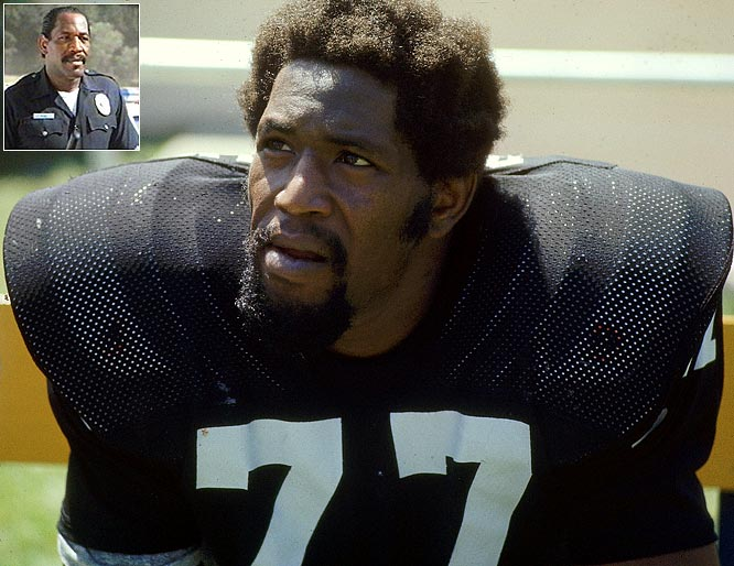 The first overall pick in the 1967 draft, a Pro-Bowler and a Super Bowl champion, Bubba Smith had a solid NFL career. Still he's better known for teaming up with Steve Guttenberg and Michael Winslow in the  Police Academy  movies. As Lt. Moses Hightower, Smith provides the brawn on an otherwise weakly cast.