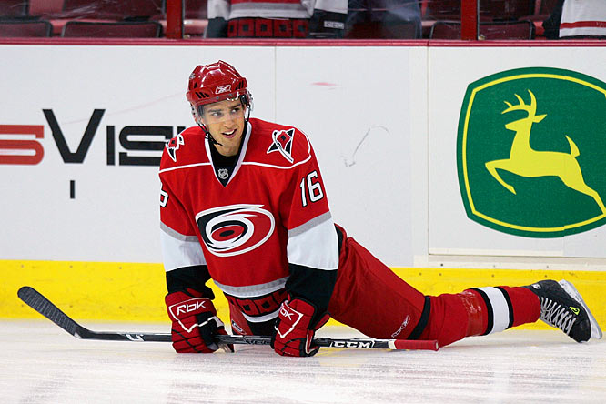 The Canes' first-rounder is considered a good, though not safe, bet to stick in Raleigh this season. He's likely to have little impact, however, spending most of his time on the fourth line with spot duty on the penalty kill.