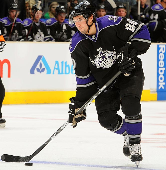 The rebuilding Kings will ice a slew of freshmen this season, but none look to have the immediate impact of the second-overall pick from last June's entry draft. The 6-0, 219-pound blueliner has impressed in camp with his quick, accurate reads and sharp passing skills. He'll be a solid 20-minute performer, and could provide a jolt to L.A.'s 17th-ranked power play.