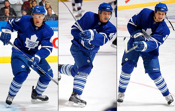 Grabovski (left), a speedy, creative forward who couldn't carve out a spot for himself in Montreal, has found there's no such logjam of talent in Toronto. He'll be given every opportunity to stick on a scoring line, as will Kulemin (center), a former linemate of Evgeni Malkin who scored 21 goals last season in Russia. Mitchell (right), a 23-year-old winger who has slowly built his credentials over the last three years with the AHL Toronto Marlies, could be a useful grinder on a depth line.