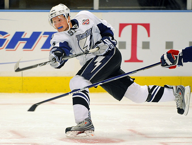 Prior to 2004, a talented but physically immature blue-chipper like Stamkos likely would have been returned to juniors for further seasoning. But the post-lockout era has been defined by the ability of rookies to make immediate impacts. Stamkos is a lock to continue the trend. The prime beneficiary of a splurge on rugged, offensive-minded wingers, Stamkos should net 70 points and establish himself as the lead dog in the Calder race.<br><br>Send comments to siwriters@simail.com.