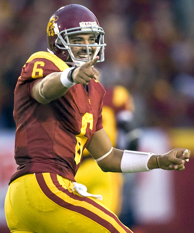USC may never get over the bitterness of losing to unranked Oregon State. But Mark Sanchez (323 passing yards, 3 TDs) and the Men of Troy did exact some revenge, putting the wood to Oregon on Saturday.