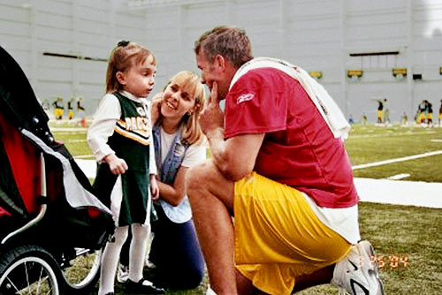 Founded in 1995, Favre's foundation's mission is to provide aid to disadvantaged or disabled children in Wisconsin and Mississippi by working with agencies such as Special Olympics, Make A Wish Foundation, Boys and Girls Club and Gaits to Success. Additionally, Favre hosts an annual golf tournament, softball tournament and steak dinner to raise funds for the foundation.