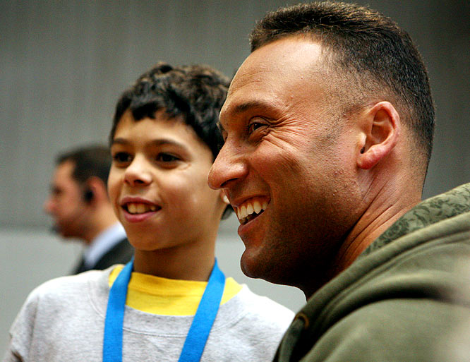 """The Turn 2 Foundation was founded in 1996 by Derek Jeter to promote a healthy lifestyle for youth. The program's activities are designed to motivate young people to turn away from drugs and alcohol and """"TURN 2 healthy lifestyles."""" The Turn 2 Foundation has awarded more than $8 million in grants since its founding, sending funds to afterschool programs, abuse prevention programs and college scholarships."""