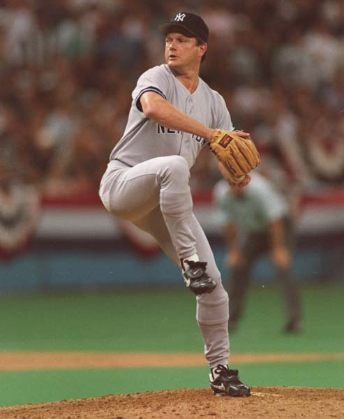 After being banned from baseball for life in June, New York Yankee pitcher Steve Howe is reinstated into baseball for the eighth time.