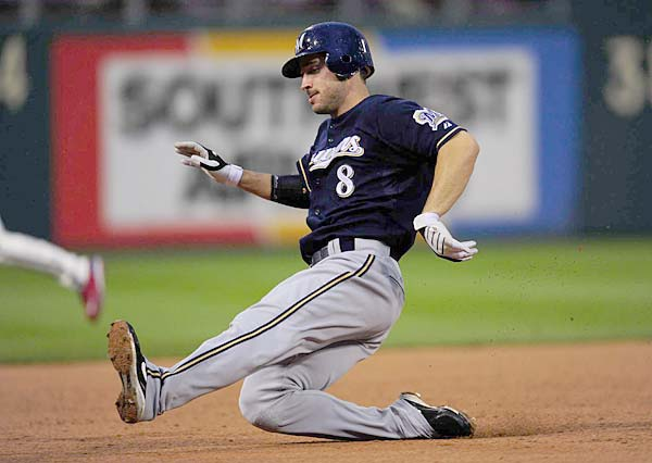 In the closest election since the current method was initiated in 1980, the Baseball Writers Association of America select Ryan Braun as the Rookie of the Year. The Brewers' third baseman edges Rockies shortstop Troy Tulowitzki, who was listed first on more than half the BWAA ballots.