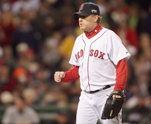 Jack Sikma (1955) <br>Curt Schilling (1966, pictured)<br>Lionel Simmons (1968) <br>Bob Christian (1968)<br>Dana Stubblefield (1970)<br>Aaron Taylor (1972)<br>Lawyer Milloy (1973) <br>Bobby Allen (1978)  <br>Kyle Orton (1982) <br>Kyle Orton (1982) Bobby Allen (1978)