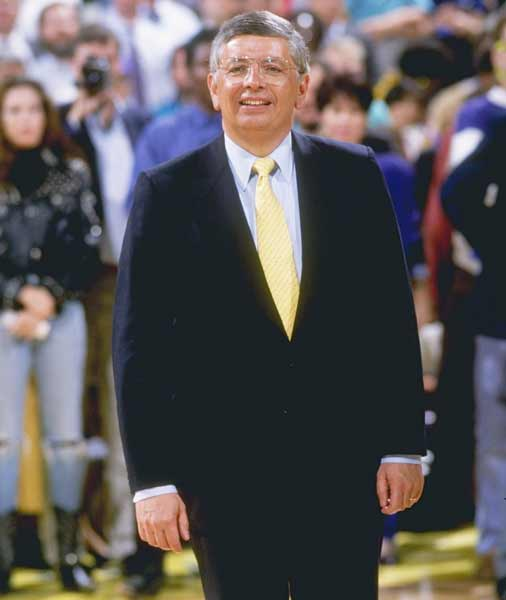 The Associated Press names NBA Commissioner David Stem the Sports Executive of the Decade for the 1980s.