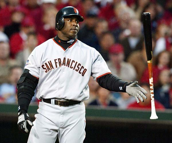 Barry Bonds becomes the first major league baseball player to win the league's Most Valuable Player title five times.