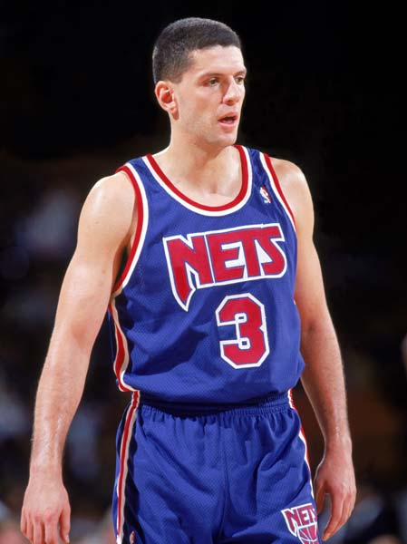 New Jersey retired the No. 3 jersey worn by the late Drazen Petrovic prior to a game at the Meadowlands Arena with Indiana. Petrovic was killed in an auto accident in Germany on June 7,1993.