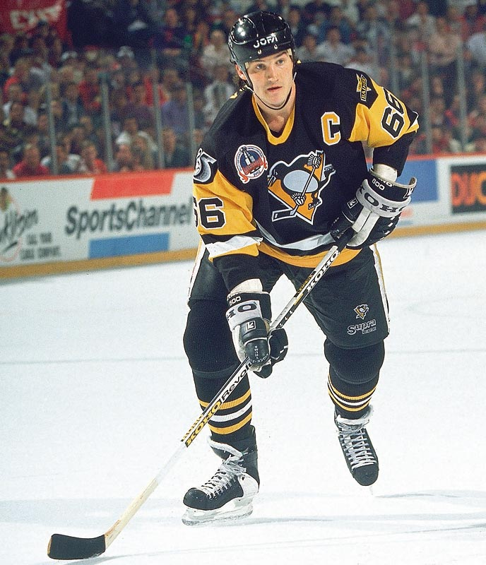 Mario Lemieux enters the NHL Hall of Fame, becoming the ninth player in history to have the mandatory three-year waiting period waived. Lemieux would come out of retirement in 2000 and play another six seasons.
