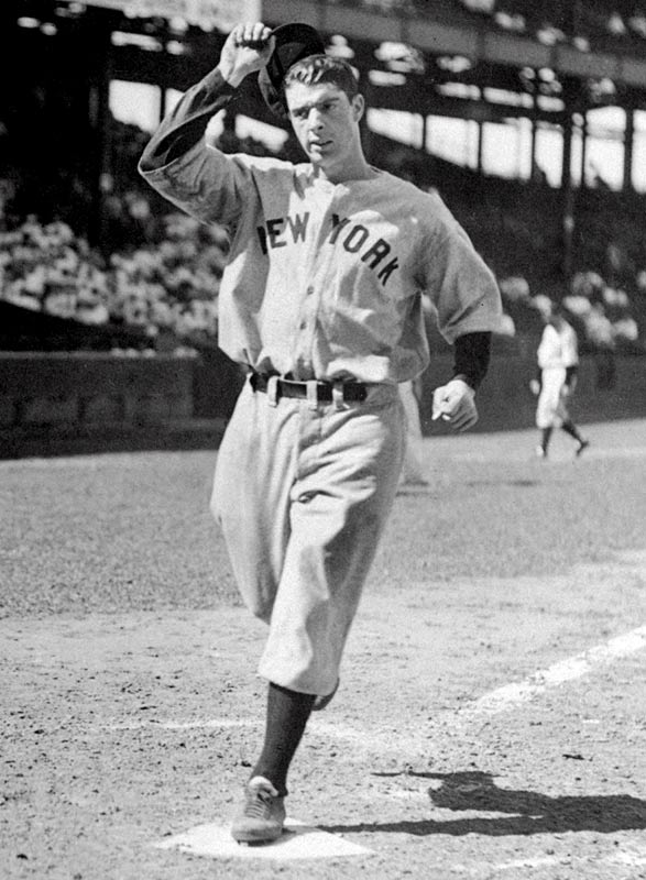 Joe DiMaggio (1914, pictured) <br>Lenny Moore (1933) <br>Bucky Dent (1951) <br>Bernie Kosar (1963) <br>Anthony Newman (1965) <br>Cris Carter (1965) <br>Jeff Norton (1965) <br>Anthony Peeler (1969)<br>Erick Strickland (1973) <br>Donovan McNabb (1976) <br>Clint Mathis (1976) <br>Joey Chestnut (1983) <br>