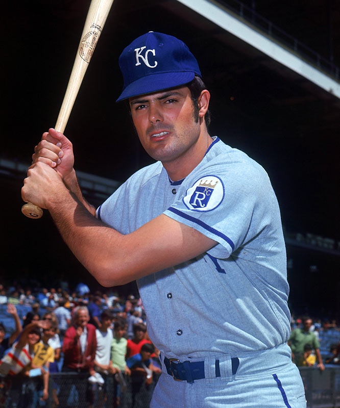 Kansas City outfielder Lou Piniella is voted the AL Rookie of Year.