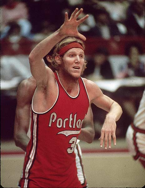 Nineteen years after their inaugural home game, the Portland Trail Blazers retired Bill Walton's jersey No. 32.