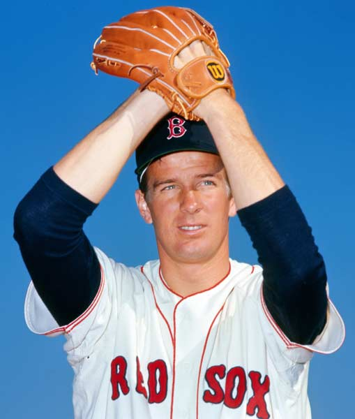 After posting a 22-9 record with a 3.16 ERA, Boston's Jim Lonborg is named the AL Cy Young winner.