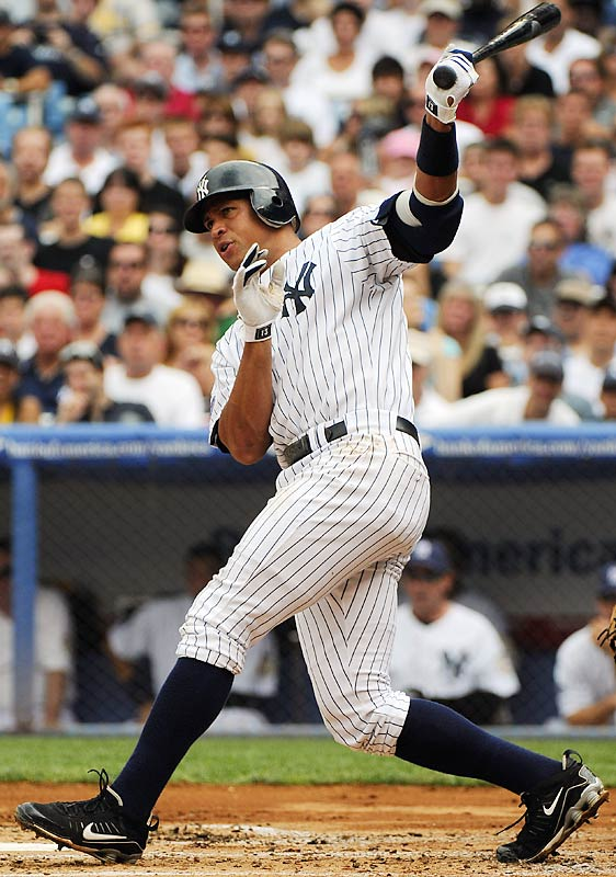 Slowed by a quadriceps injury in April and May, Rodriguez followed his 2007 MVP campaign with another big offensive year for the Yankees. In just 138 games, he had 35 home runs, 103 RBIs and scored 104 runs, while batting .302.
