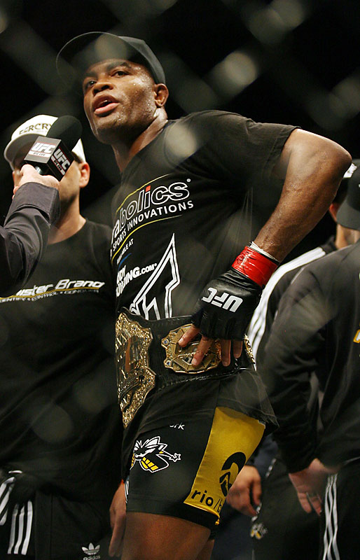 "Nominated by Josh Gross<br><br> ""Silva -- the dominant 33-year-old middleweight champion of the UFC -- performed with equal parts skill, brutality and showmanship in 2008, winning each of his three fights to set himself apart from peers for the second-consecutive year. He is the most explosive talent in the most explosive sport. Whether it was an unsuccessful attempt to box Roy Jones Jr. or being open to any challenges brought forward by the UFC, Silva's '08 campaign should be remembered for one thing: his desire to fight -- a rarity in a sport in which most others are content to compete but once or twice a year."""