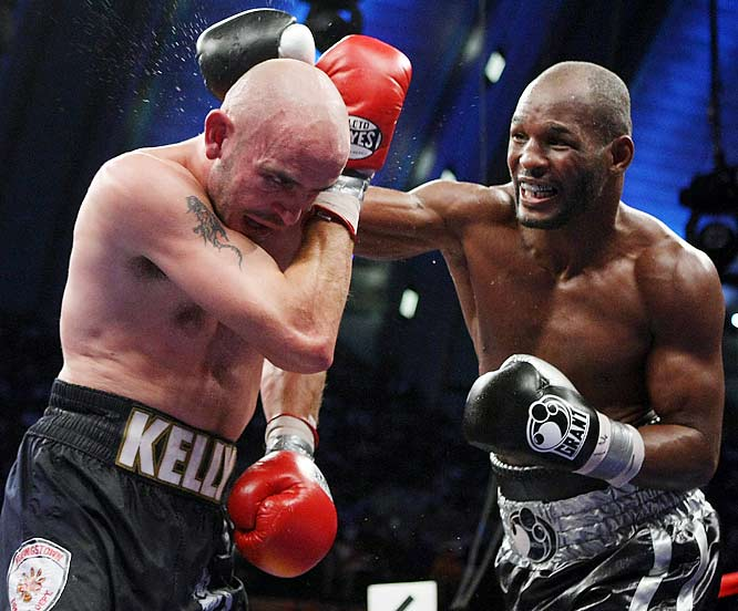 Nominated by Richard Hoffer<br><br>''Hopkins has always been <i>sui generis</i>, treating his sport more like a craft than warfare, taking his profession more as a job than a calling. The celebrity that accrued with 20 some-odd middleweight title defenses has never interfered with his dedication to the sport. His self-sacrifice remains legendary.''