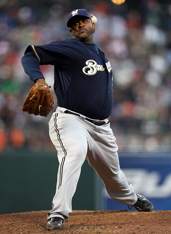 Nominated by Luke Winn<br><br>''Sabathia took a young team with a slumping offense and a beaten-up pitching staff, put it on his back and carried it into the postseason. What the Brewers realistically expected when they traded for Sabathia, I don't know, but it couldn't have been <i>that</i>.''