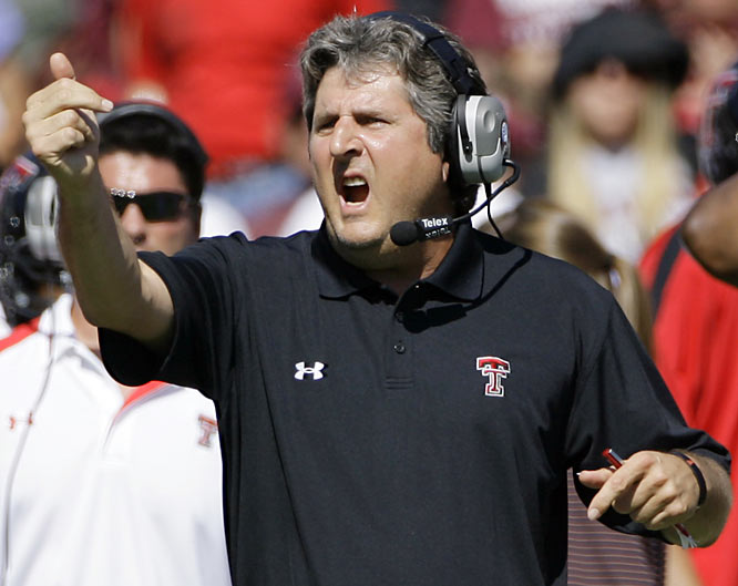 "Nominated by Austin Murphy<br><br> ""In a sport more susceptible than most to conventional thinking, I salute the least conventional mind on the college football landscape. In his ninth season in Lubbock, having finally come up with a better-than-average defense to complement his storied Air Raid offense, Leach is 10-0 and two wins away from a berth in the BCS title game."""