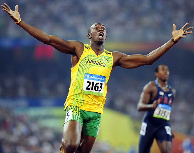 "Nominated by Tim Layden<br><br> ""In the shadow of Michael Phelps, on the biggest stage in international sports, Bolt made track and field relevant again. He jumped on the gurney, straddled a dying sport and applied paddles to its chest, giving it life. There is no guarantee that Bolt's influence has legs, and if he should be found guilty of using performance-enhancing drugs, like U.S. sprinters Marion Jones and Justin Gatlin, among others, the game is over for him and for his sport. But for now the sport lives because of one young sprinter."""