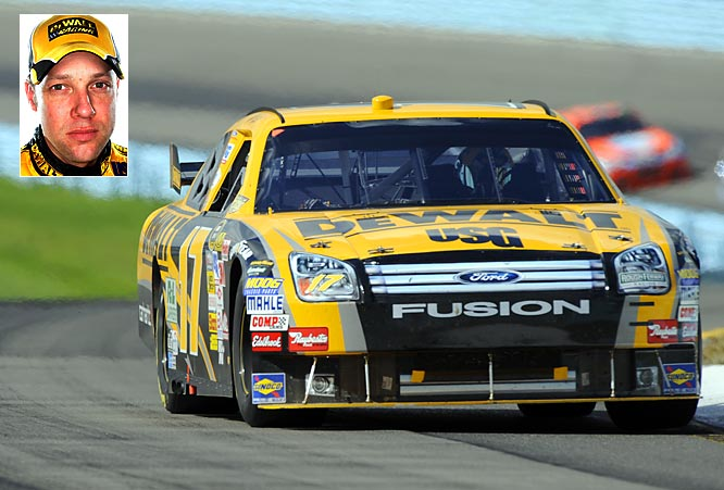 Kenseth failed to win a race in 2008, breaking a streak of six consecutive seasons with at least one victory. But what knocked him out of title contention was the five crashes he got involved in during the Chase. Without such bad luck, he'll be a dark-horse contender for his second title in the '09 season.