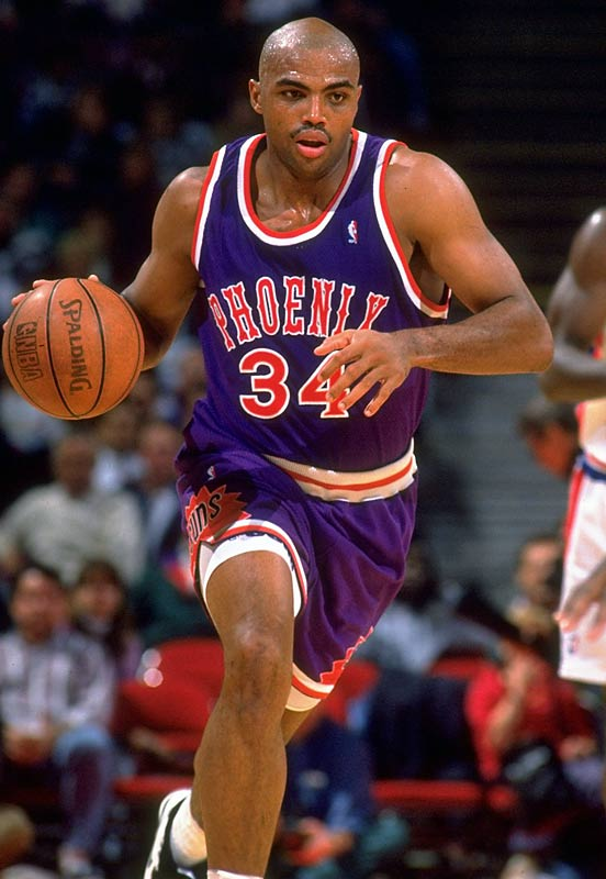 The first player to win an MVP award one year after being traded, Barkley averaged 25.6 points, 12.2 rebounds and a career-high 5.1 assists in leading Phoenix to its first NBA Finals appearance since 1976.