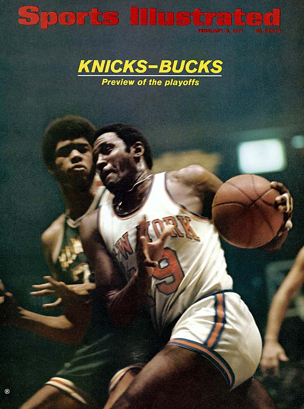 Abdul-Jabbar (left) won the MVP award in his second season, averaging an NBA-high 31.7 points and 16.0 rebounds. He also was named Finals MVP after averaging 26.6 points and 17.0 rebounds in the Bucks' championship run.