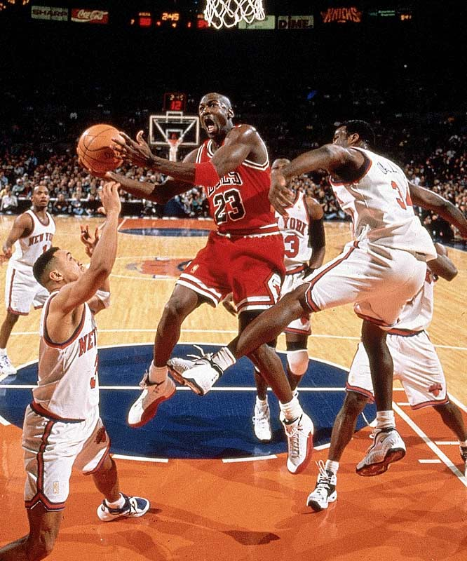 The Bulls and Knicks met each year during Chicago's first 1990s championship three-peat, and again in 1994, when the Knicks were finally able to top the Jordan-less Bulls.