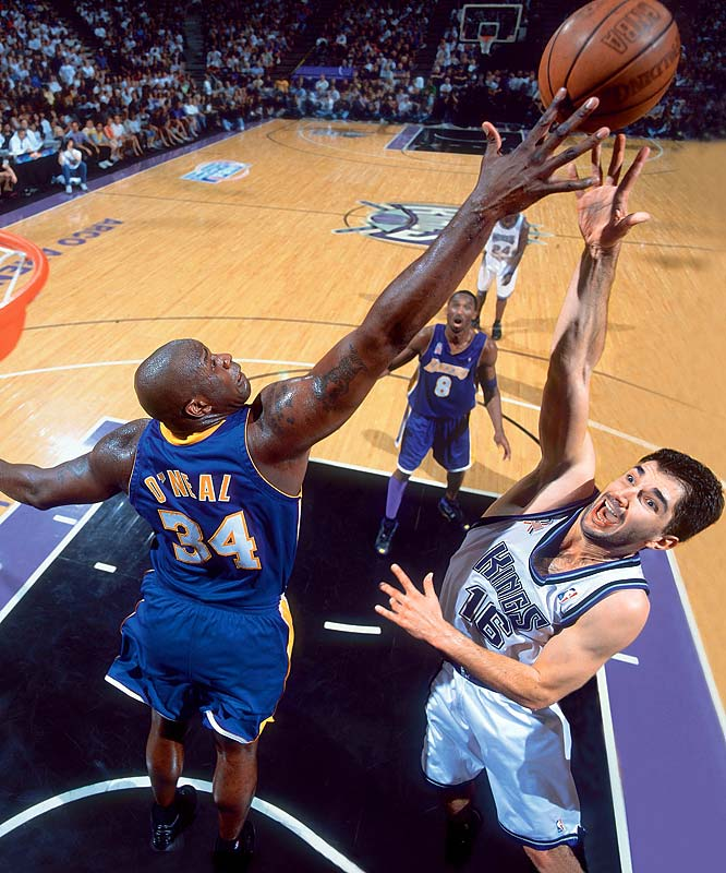Northern California vs. Southern California, the Kings and Lakers met in the 2002 Western Conference finals, where the Lakers won in overtime in Game 7.  Send comments to siwriters@simail.com