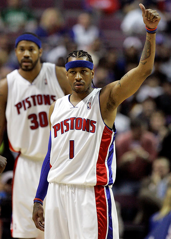 Boston throttled Detroit 88-76 in Allen Iverson's home debut with Detroit on Nov. 9, a game in which the Answer shot 4-of-11 from the field and backcourt mate Rip Hamilton was 0-for-8. The rematch comes one night after the Pistons face another tough test, a home game against Cleveland.